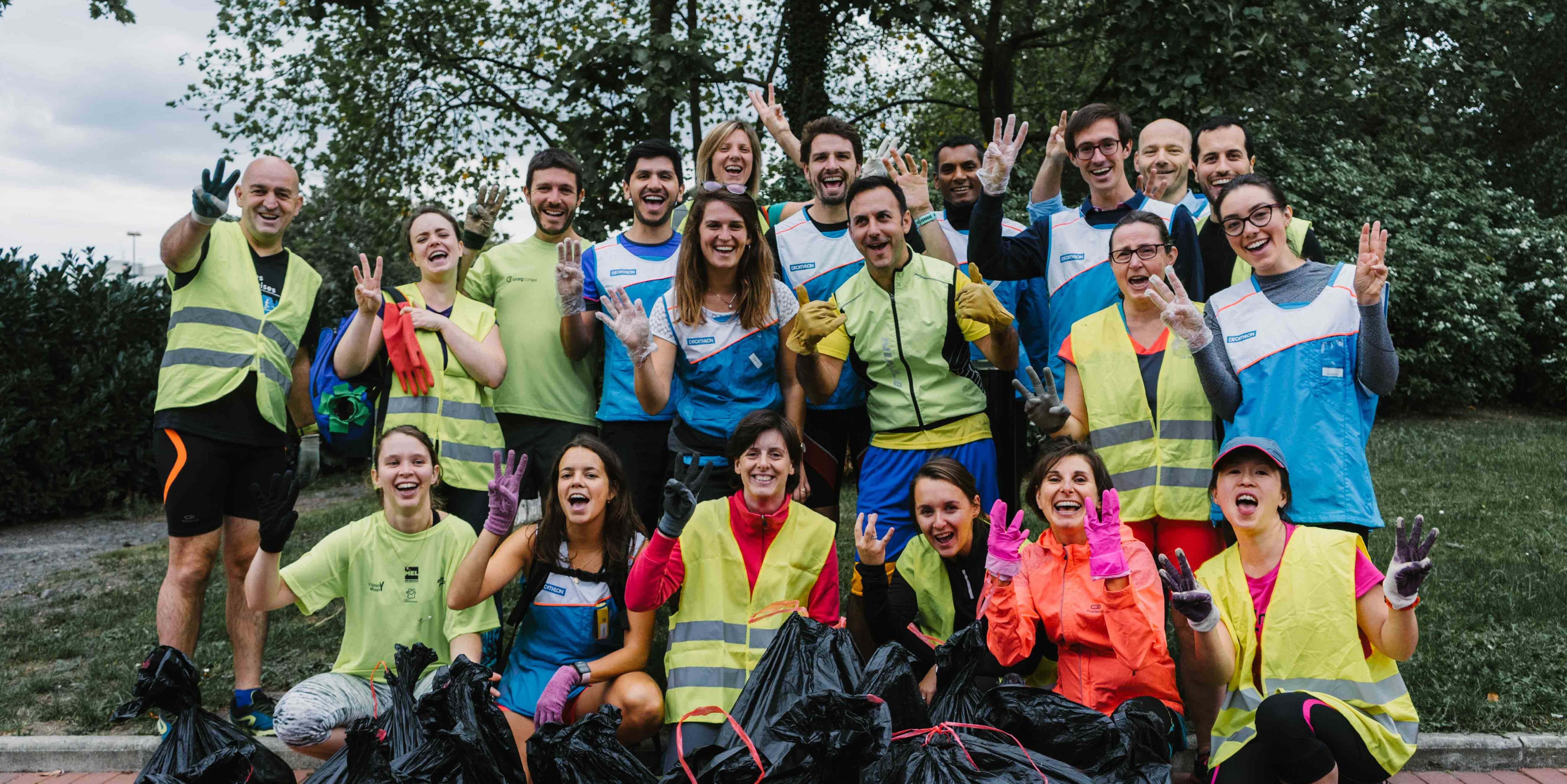 Decathlon does world clean up day!