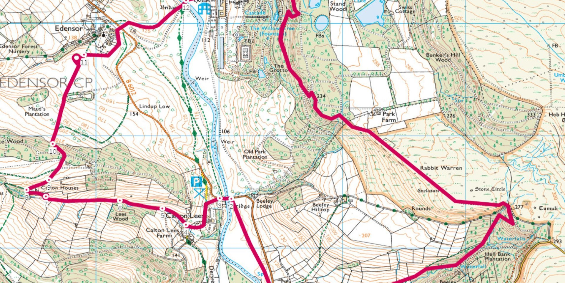 Decathlon Chatsworth Walks: 13km