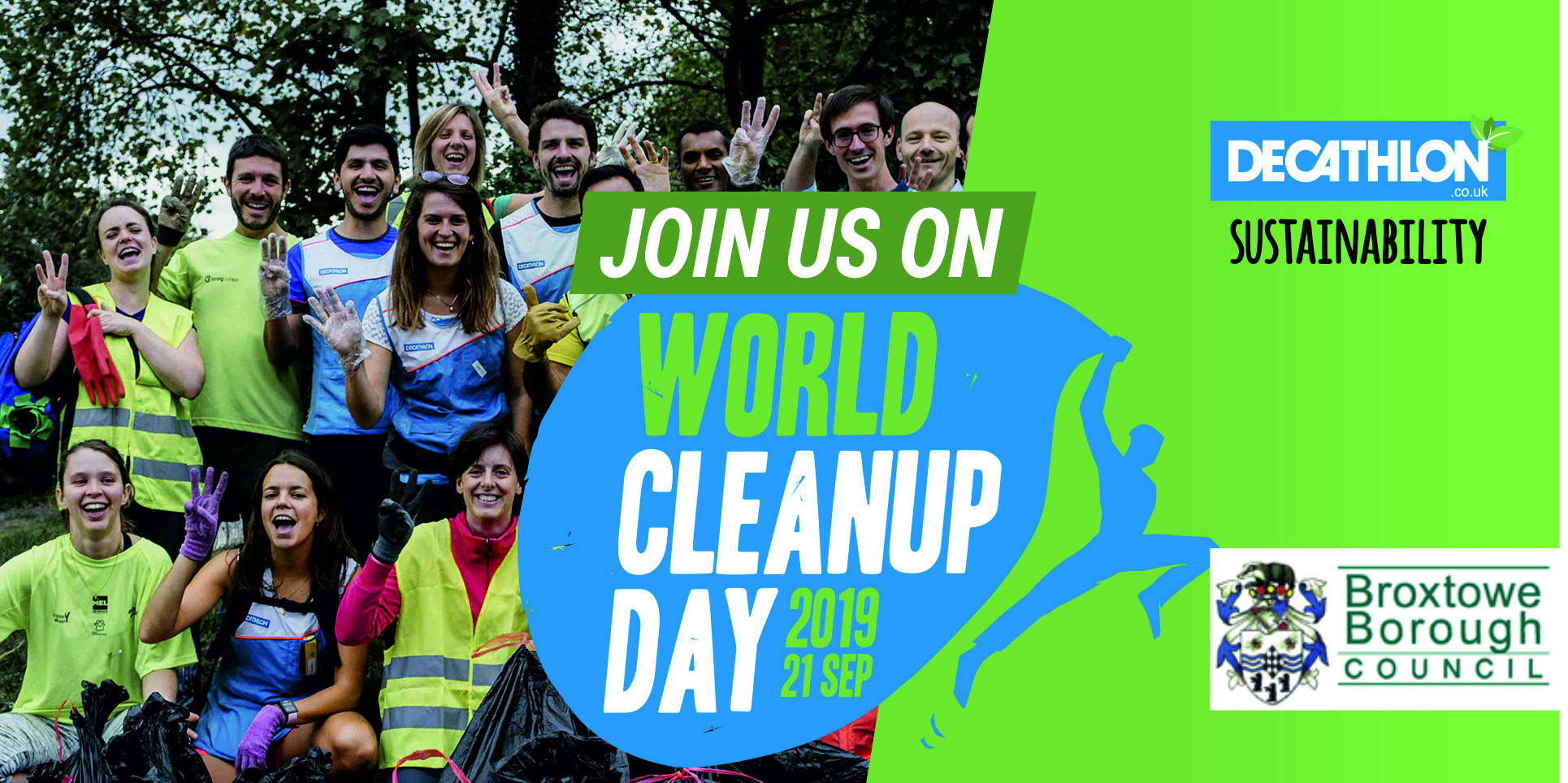 World Clean up day - giltbrook