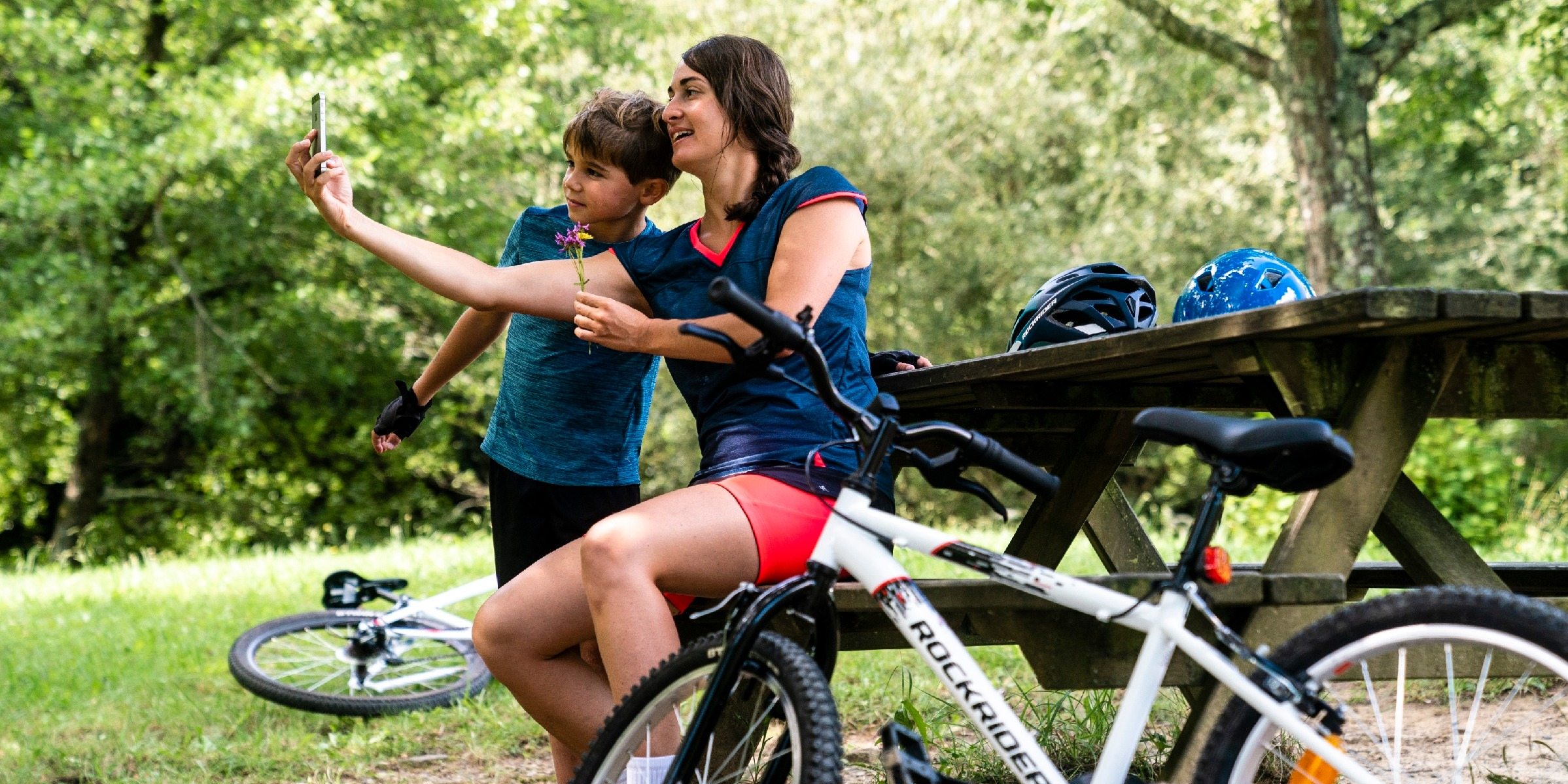 Who Can We Go Family Leisure Cycling With?