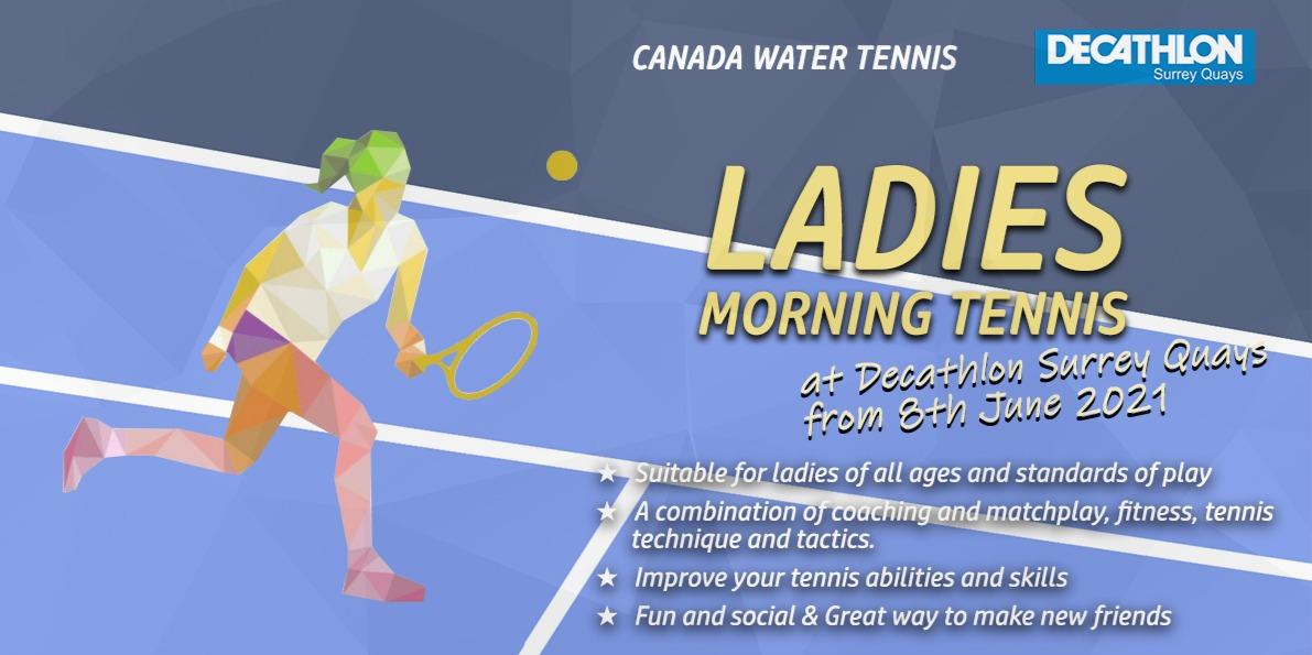 LADIES MORNING TENNIS SESSION