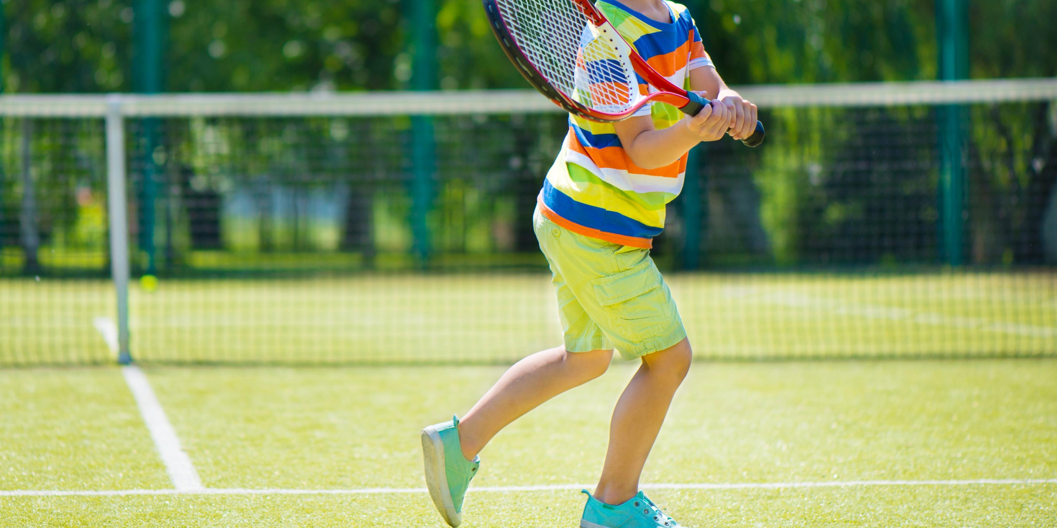 DECATHLON JUNIOR TENNIS SUMMER CAMP- 5 TO 7 yr-WEEK 2