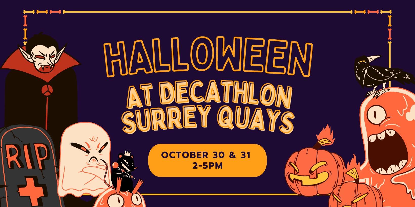 Halloween at Decathlon Surrey Quays
