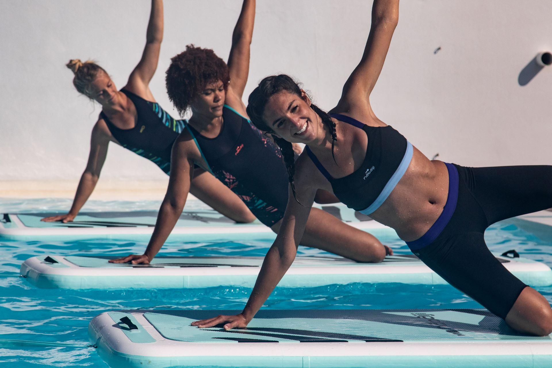 Aqua Fitness Exercises For Anyone