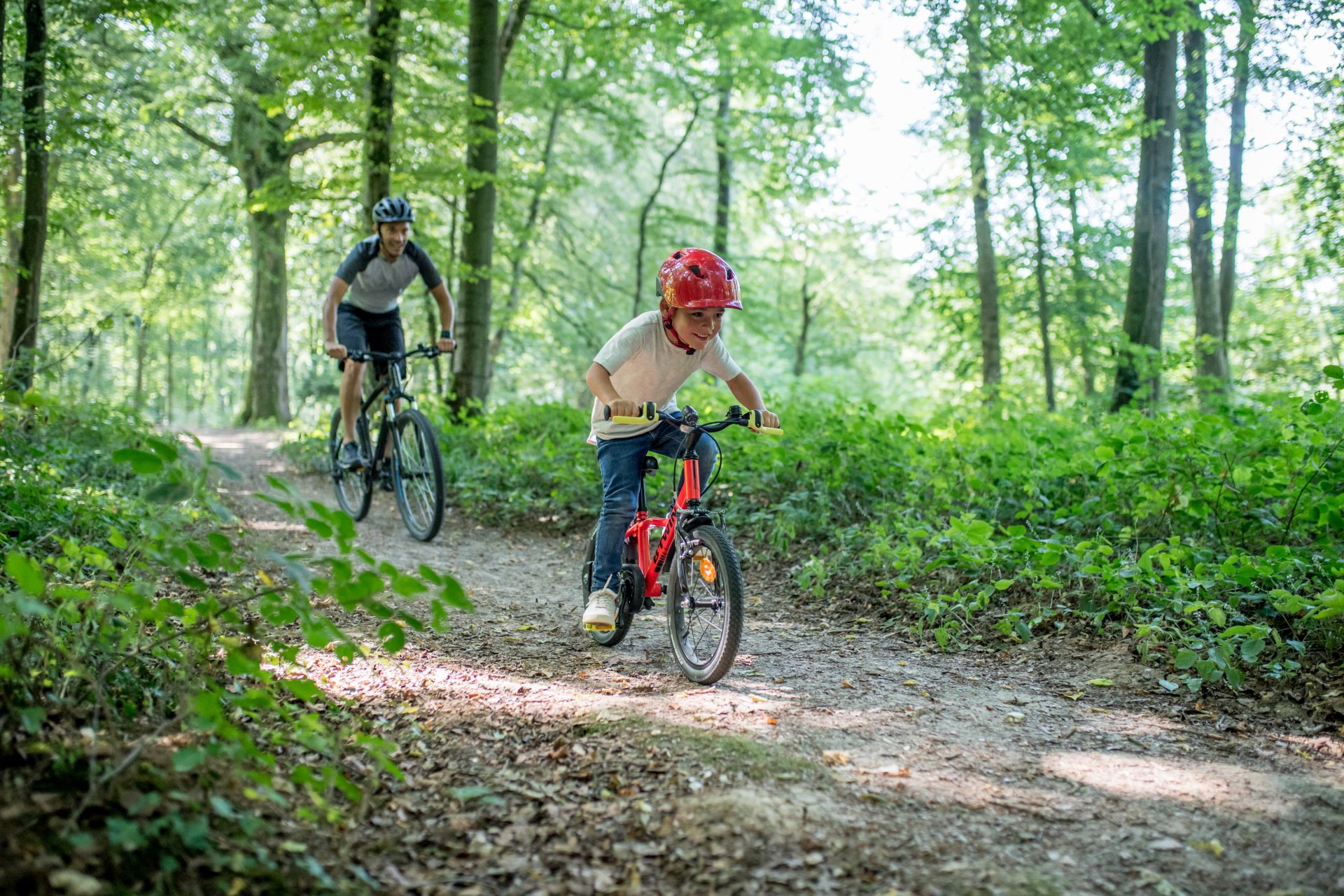 Trail Cycling With Kids - Teaching The Etiquette And Skills Required