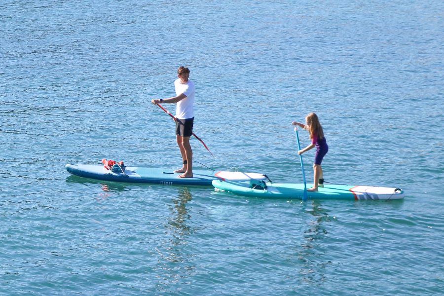 Introduce Your Child To Stand-up Paddle Boarding