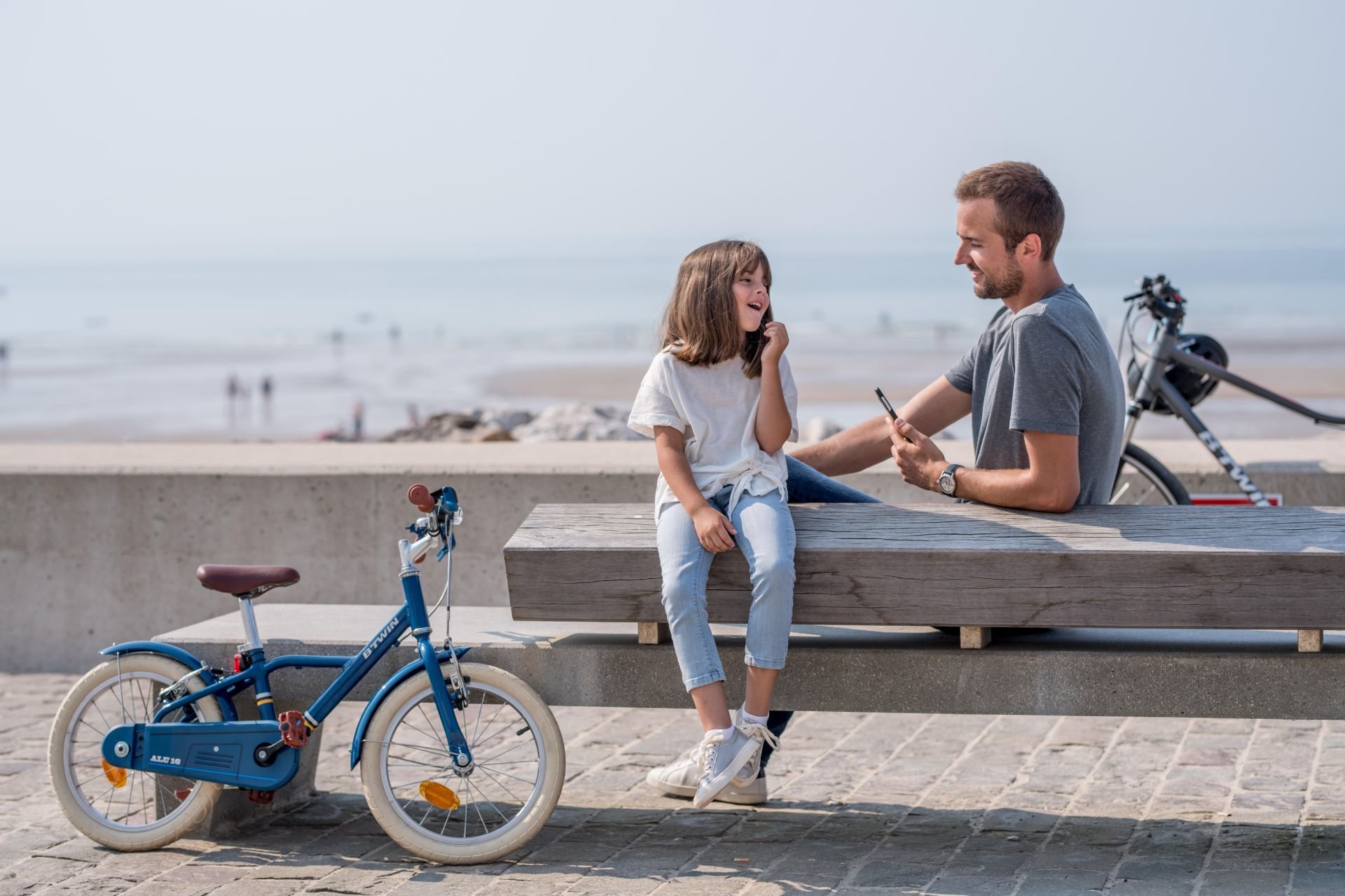 Summer Cycling Activities For Kids - Cycling By The Coast To The Beach