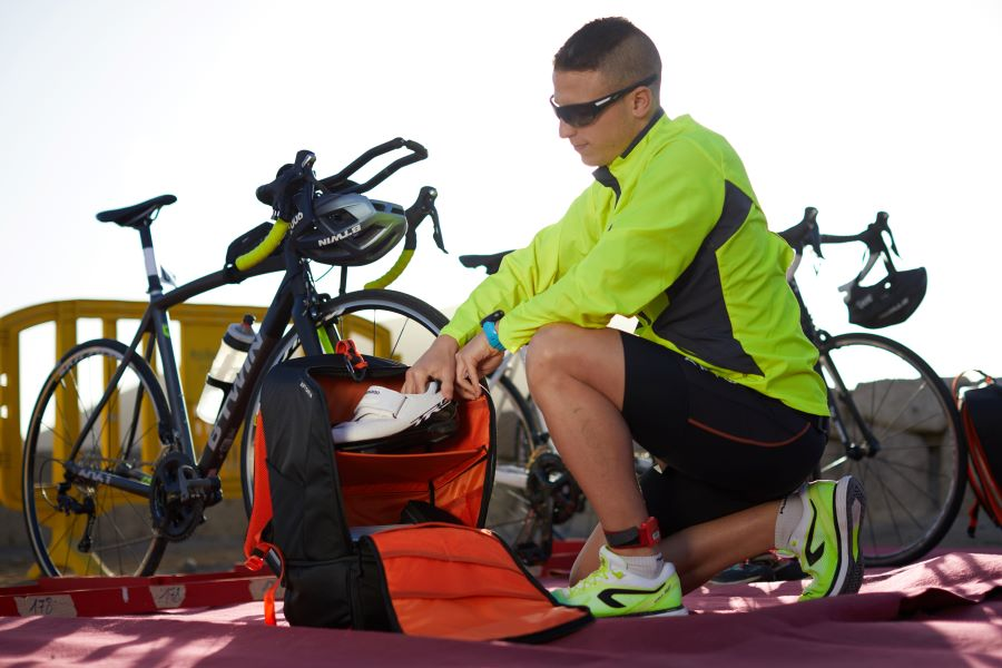 About Triathlon Transition Bags