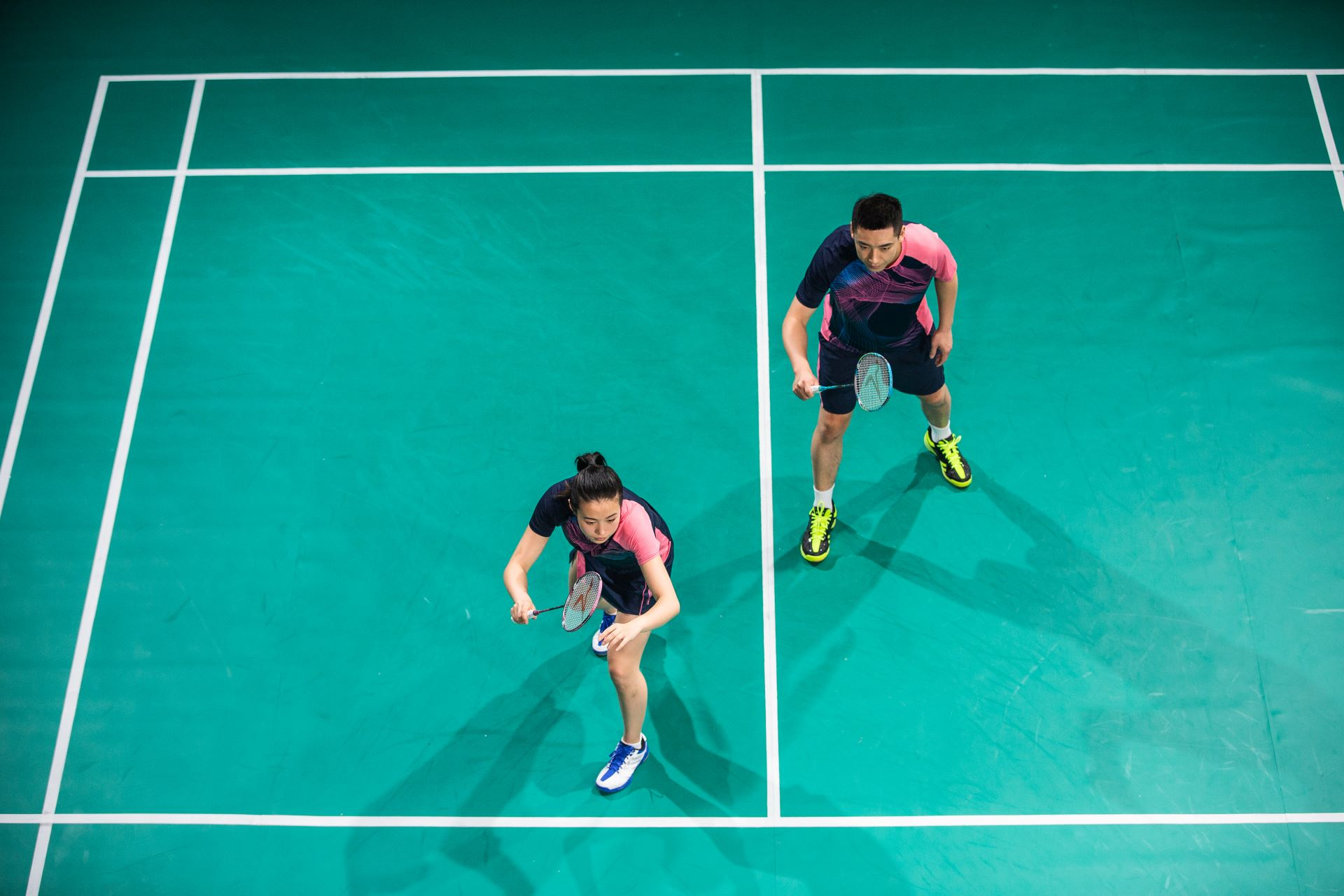 Learn Your Way Around A Badminton Court